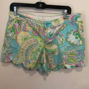 Iilly Pulitzer buttercup shorts